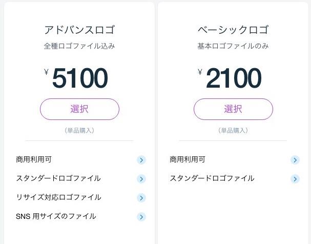 Wixロゴメーカー料金