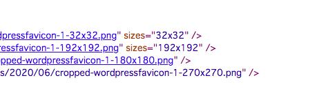 WordPressファビコンサイズ