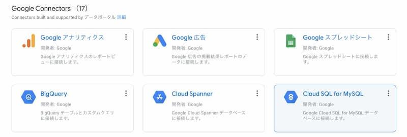 Googleデータポータル