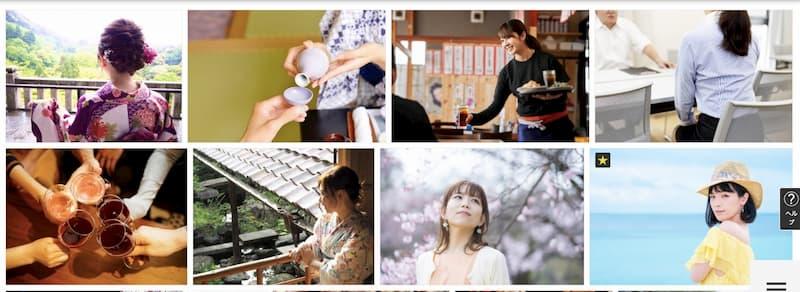 写真ac日本人モデル